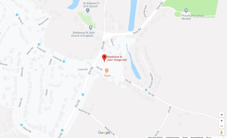 Basingstoke Map